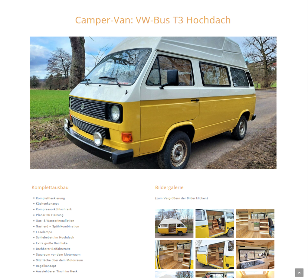 sd-campervan-websiteprojekt